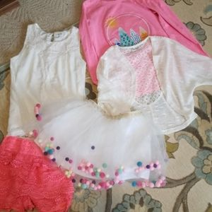 Lot of girls 7/8 clothes